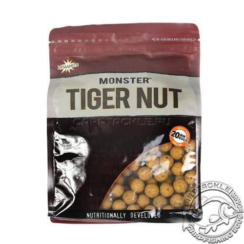 Тонущие бойлы 20мм Dynamite Baits Monster Tiger Nut 20mm 1кг Тигровый орех
