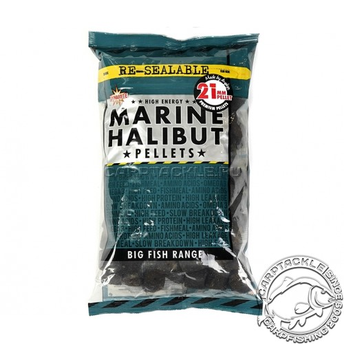 Пеллетс Marine Halibut Pellets PRE-DRILLED 21mm 900g тонущий просверленный пеллетс Палтус