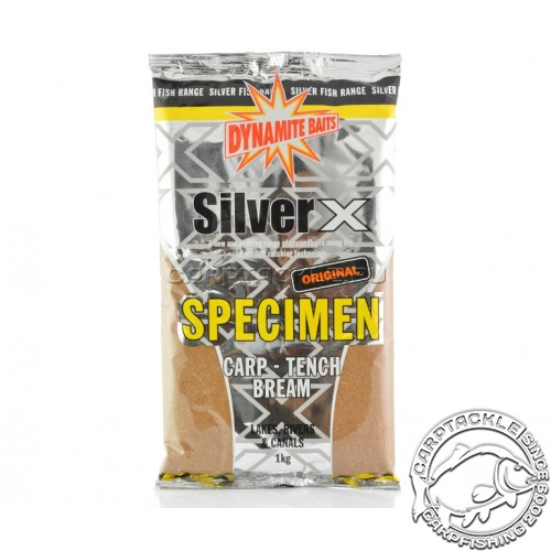 Прикормочная смесь Dynamite Baits Silver X Specimen Original 1kg