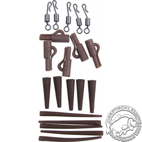 Набор для оснасток Gardner COVERT CLIP KIT SESSION PACK BROWN 5шт