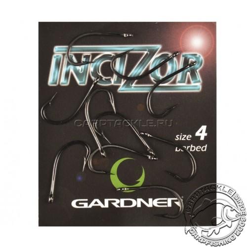 Крючки карповые размер №4 Gardner Incizor