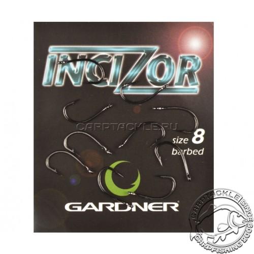 Крючки карповые размер №8 Gardner Incizor