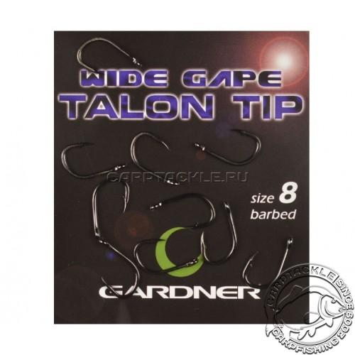 Крючки карповые размер №8 Gardner Wide Gape Talon Tip