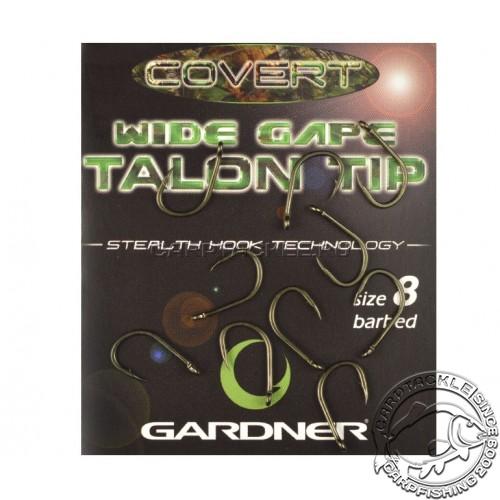 Крючки карповые размер №8 Gardner Covert Wide Gape Talon Tip