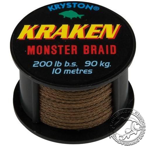 Поводковый материал KRYSTON KRAKEN 200lb 10м