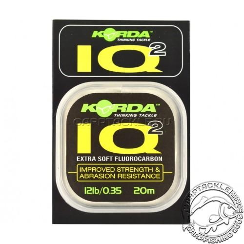 Поводковый материал Korda IQ2 Fluorocarbon 12lb 20m