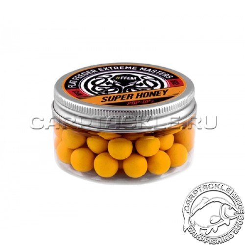 Плавающие бойлы 12мм FFEM Pop-Ups Super Honey 12mm Мед