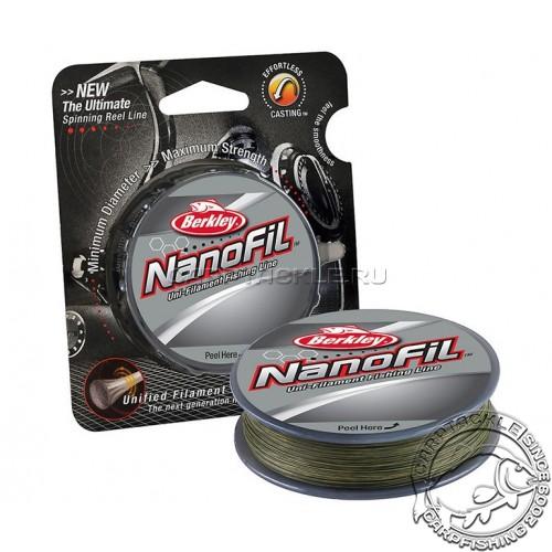 Шнур Berkley Nanofil 0.22mm 270m Low Vis Green