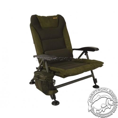 Стул+сумка для аксессуаров Solar SP C-Tech Recliner Chair - Low