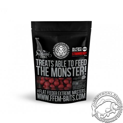 Растворимые бойлы 22мм FFEM Soluble Boilies Monster Crab 22mm 1kg Монстер Краб