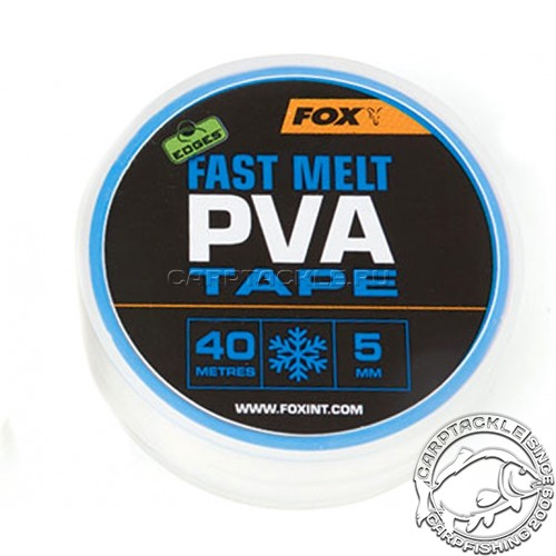 Лента PVA 5mm x 40m Edges™ PVA Tape Fast Melt Fox