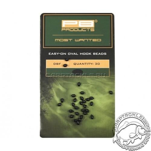 Бусина-стопор для крючка PB Products Easy-On Oval Hook Beads DBF