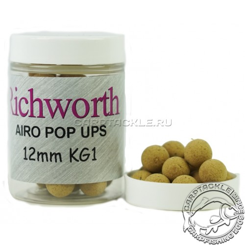 Плавающие бойлы 12мм Richworth K-G-1 Pop-Ups 12mm