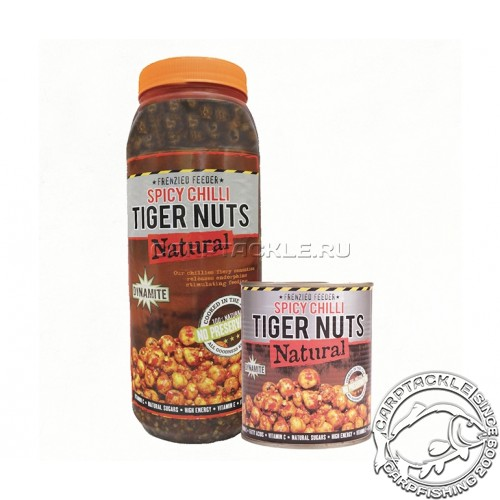 Тигровый орех консервированный 2,5л Frenzied Tigernuts CHILLI Dynamite Baits