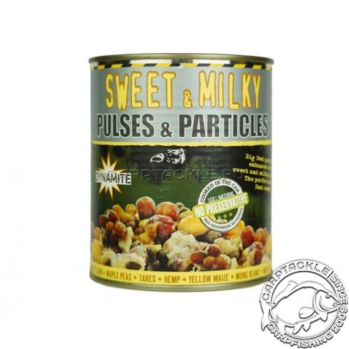 Смесь зерновых Dynamite Baits Frenzied Sweet & Milky 700g