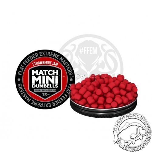 Плавающие дамбелсы 7х10 FFEM Pop-Up Match Mini Strawberry Jam 7x10mm