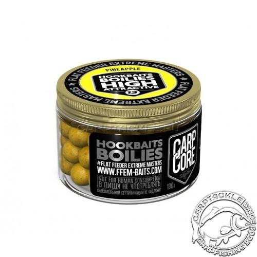 Бойлы тонущие FFEM Hookbaits Boilies Pineapple N-Butyric 13mm 100гр