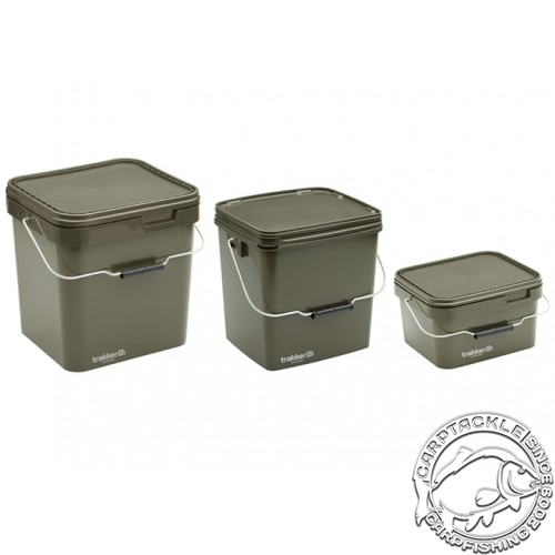 Ведро квадратное Trakker OLIVE SQUARE CONTAINER