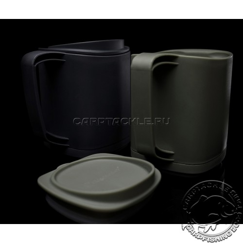 Термокружка с крышкой RIDGE MONKEY Thermo Mug Gunmetal 400ml