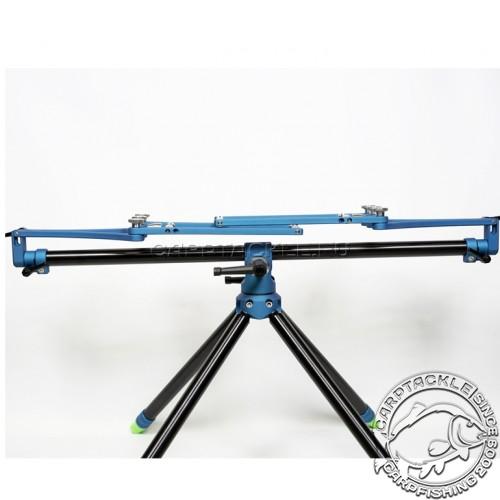 Род-под на четыре удилища цвет чёрный/синий Meccanica Vadese TechNick 4 Rod Black and Blue
