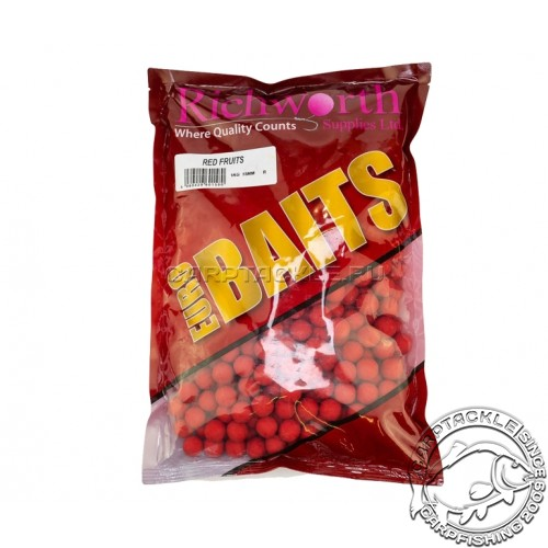 Тонущие бойлы 20мм Richworth Euroboilies Red Fruits 20mm 1kg Красные фрукты