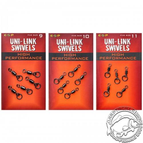 Вертлюги с кольцом ESP Hi-Performance Uni-Link Swivels