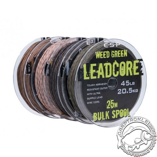Ледкор ESP Leadcore Bulk Spool 45lb 25m