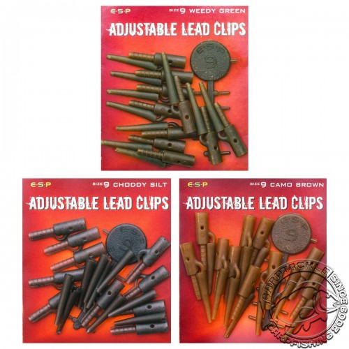 Безопасные клипсы ESP Adjustable Lead Clip