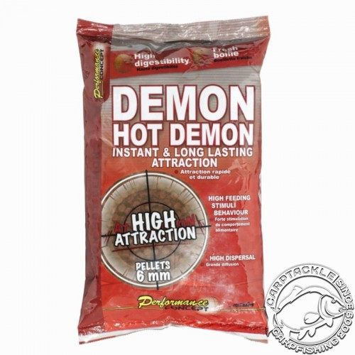 Пеллетс Starbaits Hot Demon 6mm