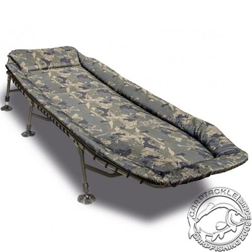 Раскладушка Solar Undercover Camo Bedchair