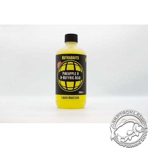 Аттрактант Nutrabaits Pineapple&N-Butyric Liquid Boosrers 500ml