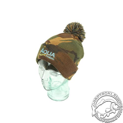 Шапка Aqua Products Camo Bobble Hat