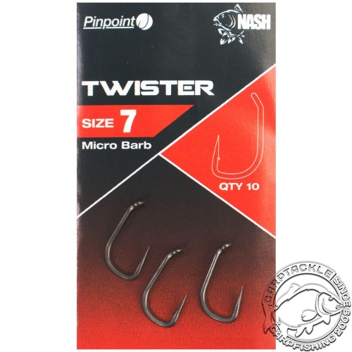 Крючки Nash Pinpoint Twister