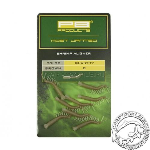 Изогнутая трубка для крючка PB Products Shrimp Aligner