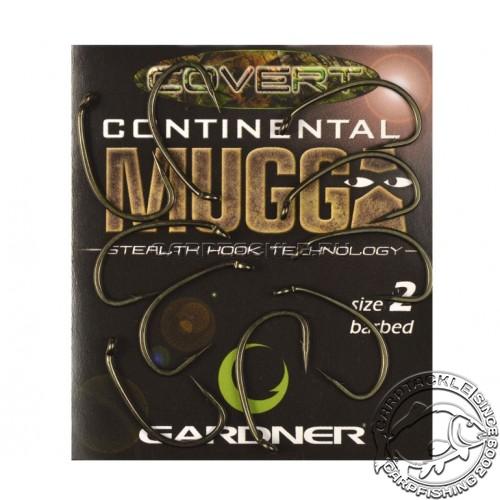 Крючки Gardner Covert Continental Mugga