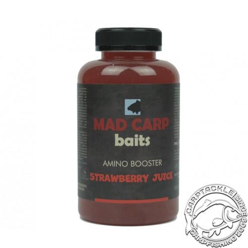Амино бустер Mad Carp Baits Strawberry Juice 500ml