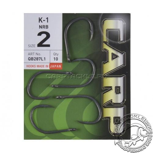 Крючки карповые c тефлоновым покрытием Hayabusa K-1