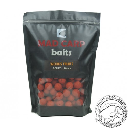 Бойлы тонущие Mad Carp Baits Woods Fruits 1kg