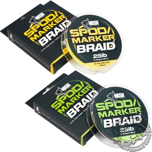 Плетеный шнур Nash Spod & Marker Braid