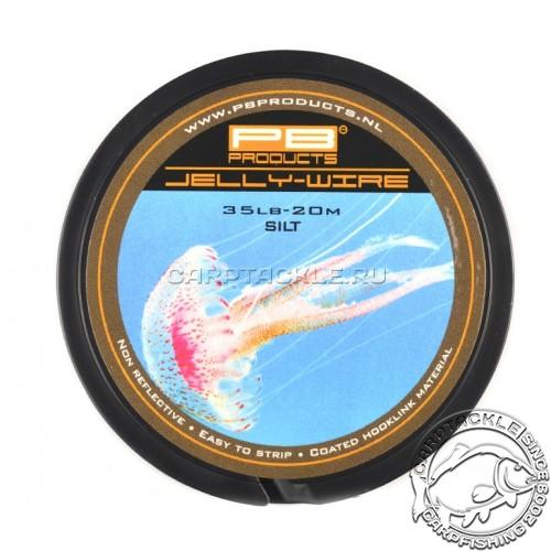 Поводковый материал PB Products Jelly Wire Silt 35lb 20m