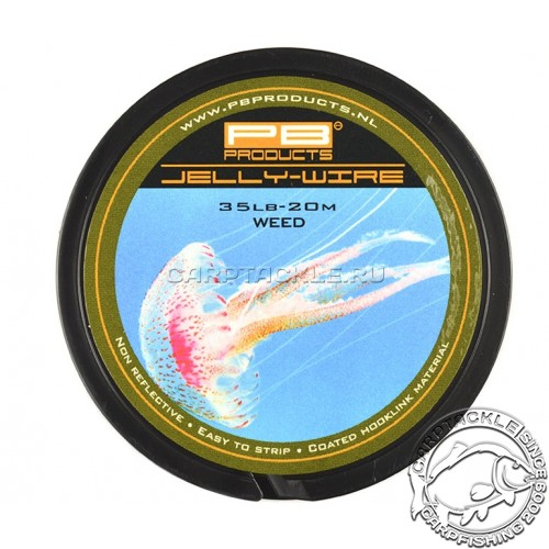 Поводковый материал PB Products Jelly Wire Weed 35lb 20m