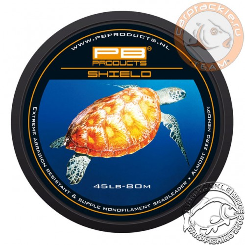 Снаг моно-лидер PB Products Shield Snagleader 45lb 80m