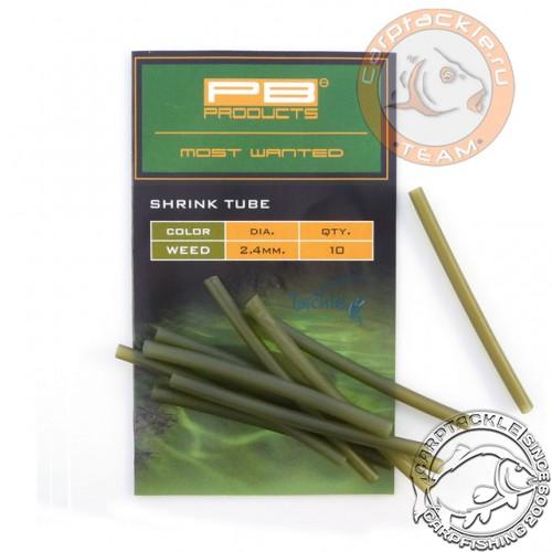 Трубка термоусадочная PB Products Shrink Tube Silt 2,4mm 10 pcs