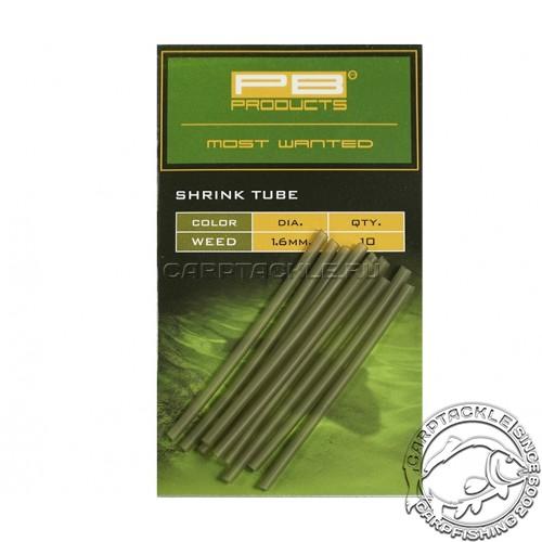 Трубка термоусадочная PB Products Shrink Tube Weed 1,6mm 10 pcs