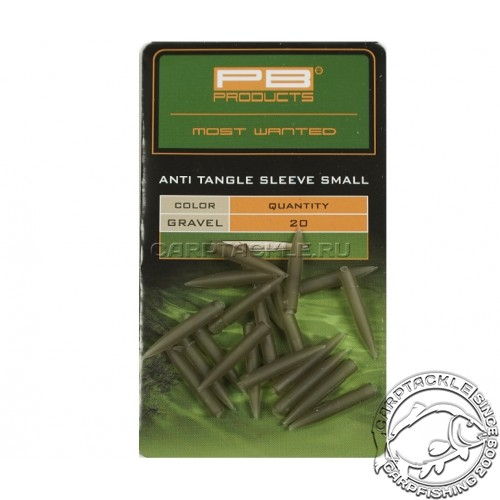 Конусный противозакручиватель короткий PB Products Anti Tangle Sleeves Small Gravel 20