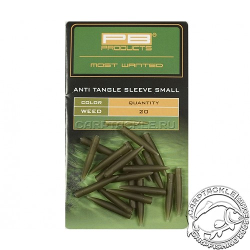 Конусный противозакручиватель короткий PB Products Anti Tangle Sleeves Small Weed 20pc