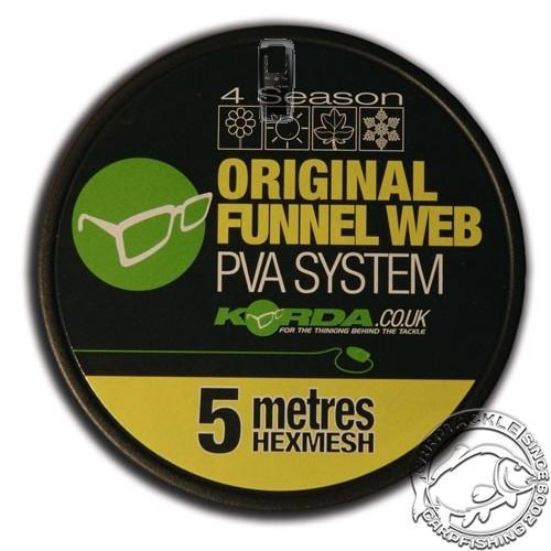 Сетка Korda PVA Original Funnel Web Micromesh 5m