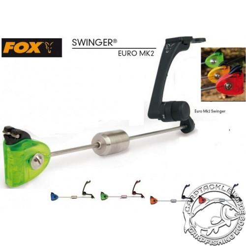 Механический сигнализатор поклевки Fox Euro MK2 Red Swinger