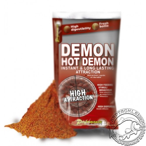 Прикормочная смесь Starbaits HOT DEMON Stick Mix 1kg стик микс для ПВА острые специи
