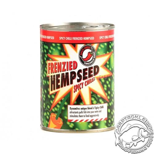 Семена конопли c экстрактом острого чилийского перца Dynamite baits Frenzied Hemp seed spice chilli 350g